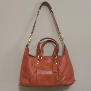 Coach Orange purse or shoulder bag